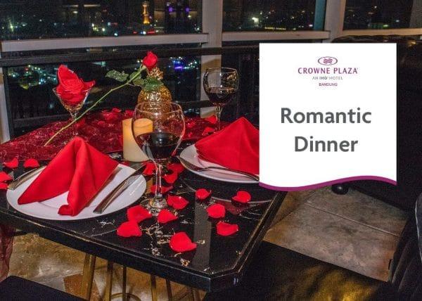 Romantic Dinner Crowne Plaza Bandung