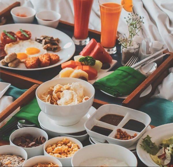Tray Meals Crowne Plaza Bandung